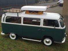 Vw Bus T2, Bus Camper, Volkswagen Bus, Vw T1, Kombi Motorhome, Campervan, Busses, Vespa, Cool Cars