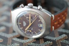 HEUER CHRONOGRAPH (TROPICAL DIAL) from Iconic Pieces