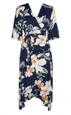 Becky Navy Floral Jumpsuit – Little Party Dress