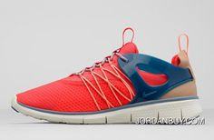Discount Sale 2015 Limit Nike Wmns Free Viritous Socfly Trainers Womens Shoes Hyper Crimson Navy Brown In the UK online