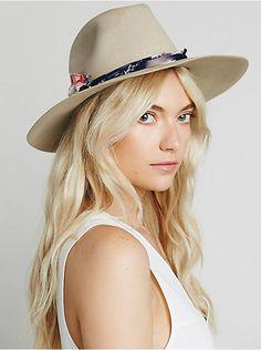 Free People Tattered Americana Felt Hat, $228.00