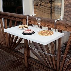 Small balcony ideas@prncessl07 for your back deck