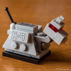 Lego Building Project For Kids 45 - mybabydoo Lego Tv, Lego Robot, Lego Mecha, Lego Projects, Projects For Kids, Kids Crafts, Lego Doctor Who, Dog Wallpaper Iphone, Niklas