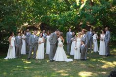 ivory and grey weddings - Google Search