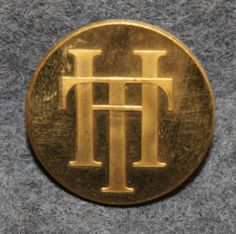 TH tai HT. 26mm kullattu Personalized Items