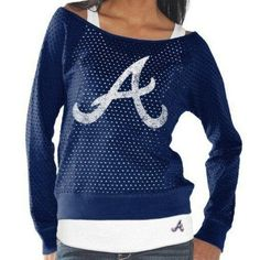 Atlanta Braves Womens Holy Long Sleeve T-Shirt and Tank – $49.95