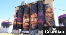 Street Art on silos by Adnate in Sheep Hills Victoria Australia Murals Street Art, Street Art Graffiti, Seen Graffiti, Graffiti Murals, Yarn Bombing, Banksy, Les Stickers, Urbane Kunst, Steampunk
