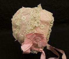 Child's Irish Crochet Bonnet, early 20th century