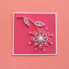 A step-by-step tute for making this quilled daisy card.