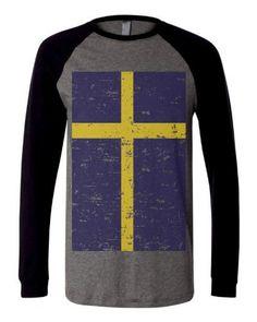 swedish flag shirt