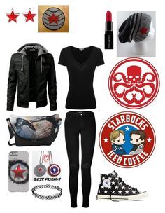 """Buckyyyy"" by my-not-so-healthy-obsession ❤ liked on Polyvore featuring Givenchy, J Brand, James Perse, Sebastian Professional, Smashbox and Converse"