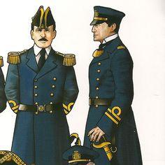 MINIATURAS MILITARES POR ALFONS CÀNOVAS: LA ARMADA ESPAÑOLA EN 1909, fuente = La desaparecida revista RISTRE, Ilustraciones, Luis Leza Suarez