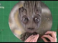 Baby Groot cake Guardians of the Galaxy Vol 2 - YouTube