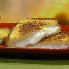 Mario Batali's Italian Grilled Cheese Sammies #TheChew