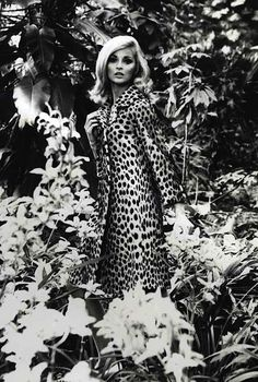 Leopard print coat, c1960 by rachael