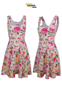 19 Cute and Fun Floral Spring Dresses for Less Than $30 Found on Amazon!