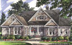Hillside Walkout Home Plan - The Whitford #1298-D
