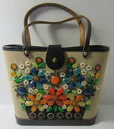 Enid Collins bag~Texas Flower Basket