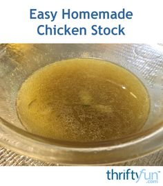 I never throw out the scraps and bones from my roast chickens. I always turn them into a delicious, hearty chicken stock. This tastes so much better than canned or boxed broth, and also ends up being way cheaper!