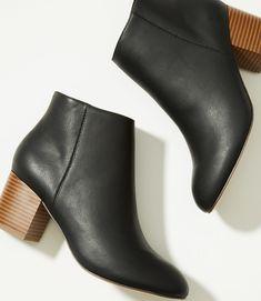 7cb483a40d4 LOFT Mid Heel Booties Block Heel Ankle Boots