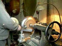 Metal spinning, wyoblanie ręczne, drykowanie, Kołpak stal 1 mm. www.wyoblanie.pl - YouTube May Can, Spot Welder, Metal Working Tools, Kettle, Kitchen Appliances, Canning, Youtube, Diy Kitchen Appliances, Tea Pot