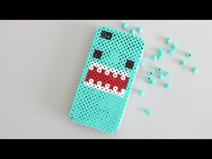 Carcasa móvil con Perler Beads ♥ Phone Case with Perler Beads - YouTube