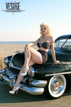 hot rod, muscle cars, rat rods and girls : Photo