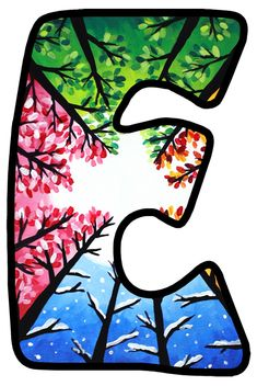 Alphabet Style, Monogram Alphabet, Alphabet And Numbers, Alphabet Drawing, Drawing Letters, Disney Alphabet, Letter E, Dahlia Flower, Font Styles