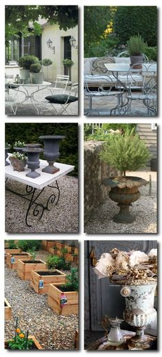 Outdoor Provence,French Decorating, French Outdoor gardens