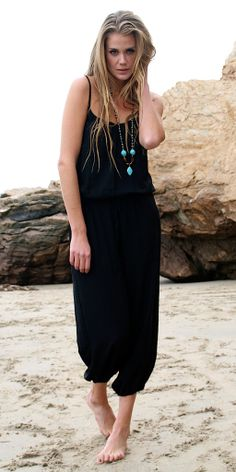 The Claudette jumpsuit is a must have basic. This little number is your throw on and go piece for any occasion. With sandals/converse to the beach or shopping. Some heels and a cute cover up for dinne