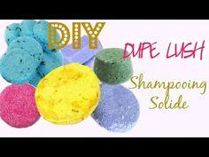 DIY BEAUTY | Shampooing solide home made like Godiva Lush | Shampoo bar Mamzelle Emie - YouTube