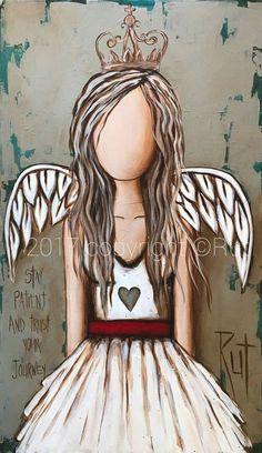 Trust your journey. List Of Paintings, Angel Paintings, Angel Drawing, Angel Crafts, Angel Pictures, Angels Among Us, Angel Art, Art Journal Inspiration, Art Google