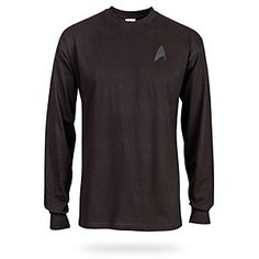 ThinkGeek :: Star Trek Command Shirt  — I think this is a must-have for video conferencing.