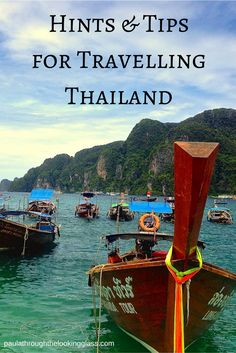 travel hacks for when you are in ‪#‎Thailand‬