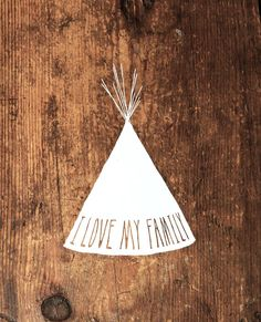 every little family needs this! TRIBE  sticker  by beauchamping on Etsy, $5.00