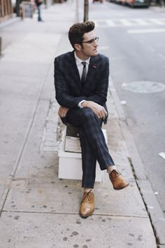 Penguin Suit, Grenson Shoes