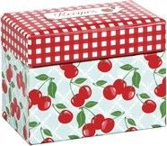 Gibson Recipe Box Kitchen Cherry | eBay