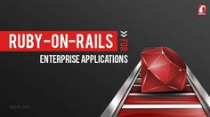 Ruby on Rails is the ideal model for producing enterprise applications as it provides an economical choice for innovating without high stakes.