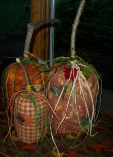 Free Primitive Craft Ideas | ... Primitive Pumpkins, how to sew a fabric pumpkin, sewing fall crafts