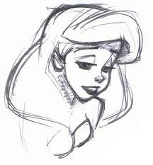 Disney artist, Glen Keane (b. / Son of cartoonist Bil Keane (The Family Circus). He left Disney in after 38 years, to pursue other interests in anamaton. Cartoon Drawings Of People, Disney Drawings, Drawing People, Drawing Disney, Drawing Ariel, Drawings Of Mermaids, Drawings Of People Easy, Disney Artwork, Plan Image