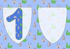 One Today Birthday Knight A5 Insert on Craftsuprint - Add To Basket!