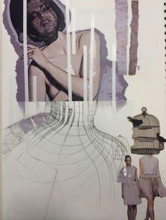 BA Hons fashion product & promotion @ Sunderland uni 1st yr Sketchbook Layout, Sketchbook Project, Folio Books, Fashion Portfolio, Sunderland, Layout Inspiration, Design Process, Sketchbooks, Uni
