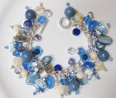 My Handcrafted Denim And Jeans Charm Bracelet