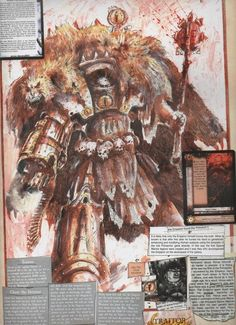 Horus Lupercal by John Blanche
