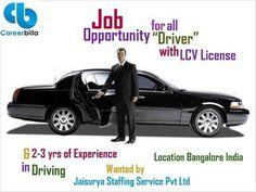 Find driver jobs through careerbilla.com
