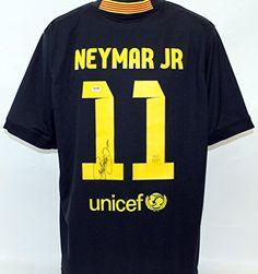 Neymar Jr Autographed Barcelona CBF Jersey PSA/DNA LOA *** For more information, visit image link.