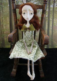 Fiona - Forest Folk Art Doll by Evelyn's Wonderland