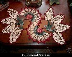 Carpeta de mesa pajaritos