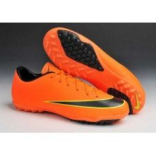 cheap for discount 0510d 9c4d8 Discount world cup nike Mercurial Victory X TF 10 Orange Black cheap  football shoes