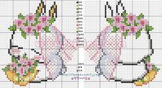 patrones de llaveros a punto de cruz